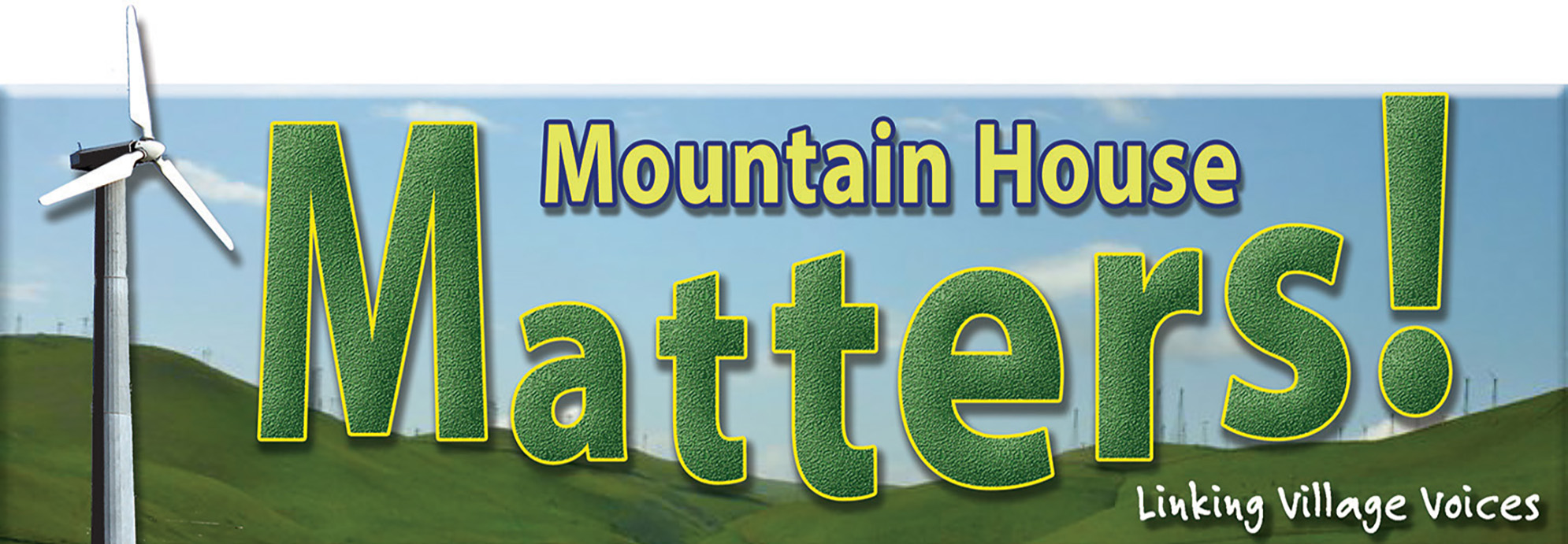 Mountain House Matters Masthead image