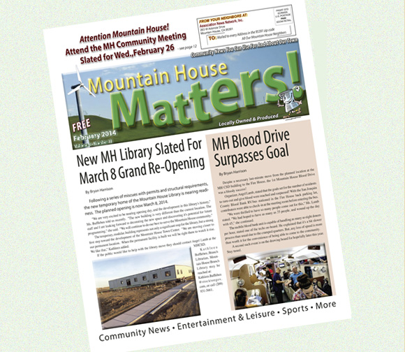 January 2016 Mountain House Matters